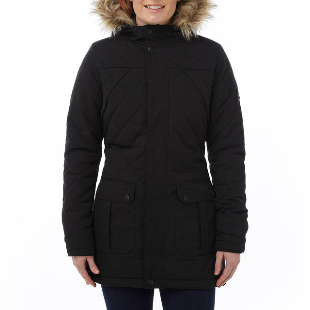 Mavern Womens TCZ Thermal Jacket - Black image 2