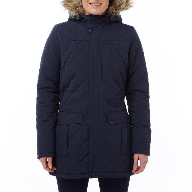 Mavern Womens TCZ Thermal Jacket - Navy image 2