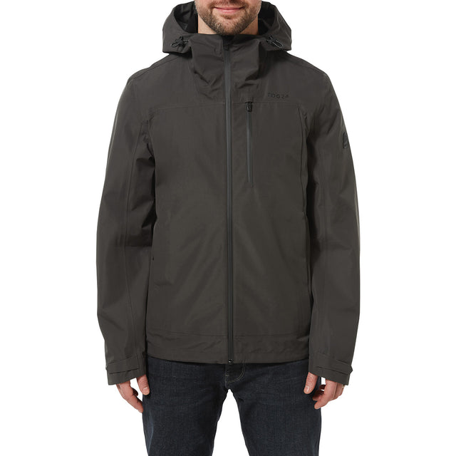 Mcintyre Mens Performance Waterproof Jacket - Charcoal image 2