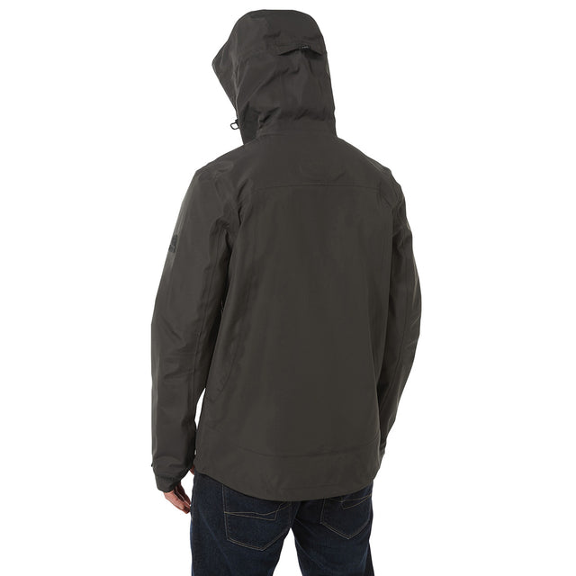 Mcintyre Mens Performance Waterproof Jacket - Charcoal image 3