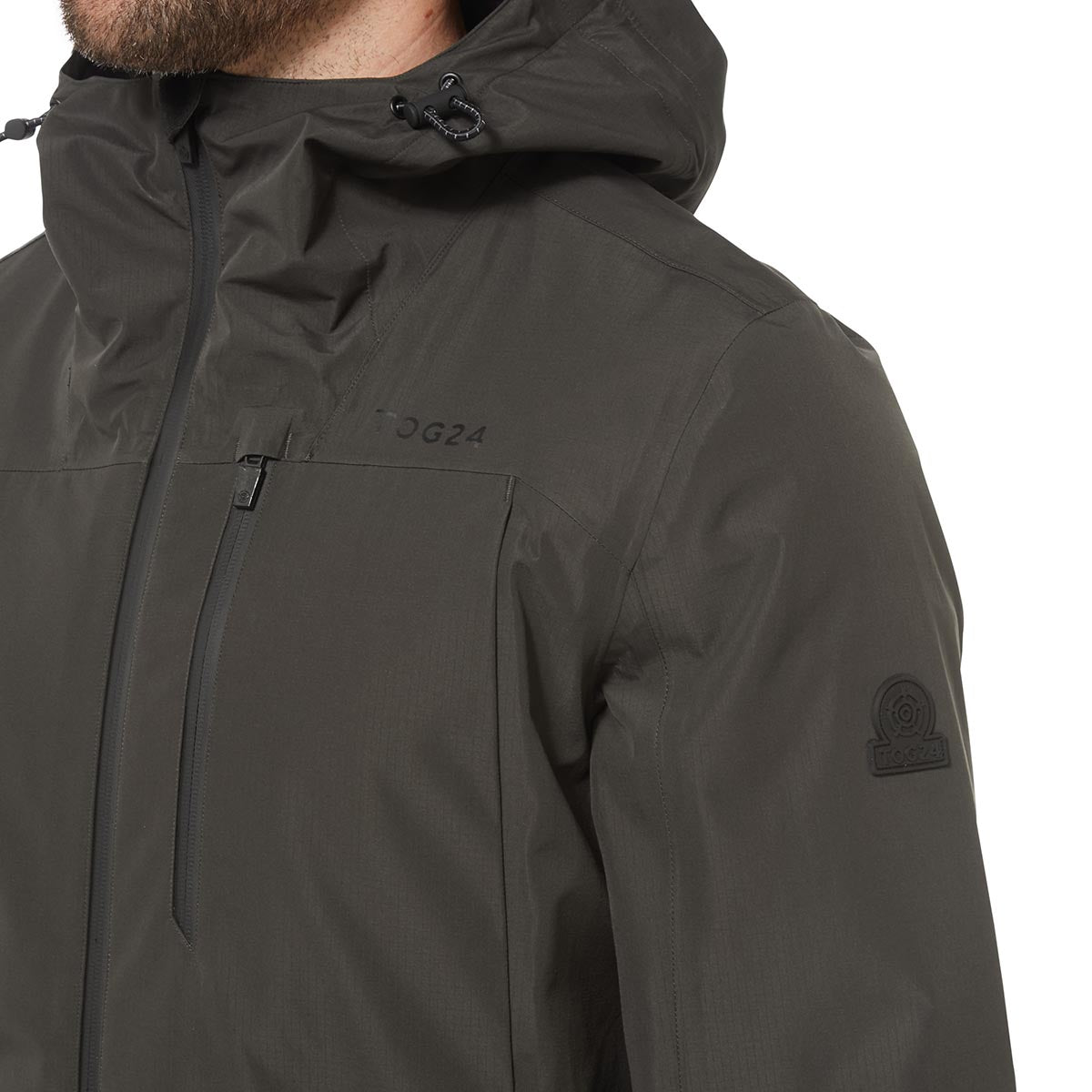 Mcintyre Mens Performance Waterproof Jacket - Charcoal image 4