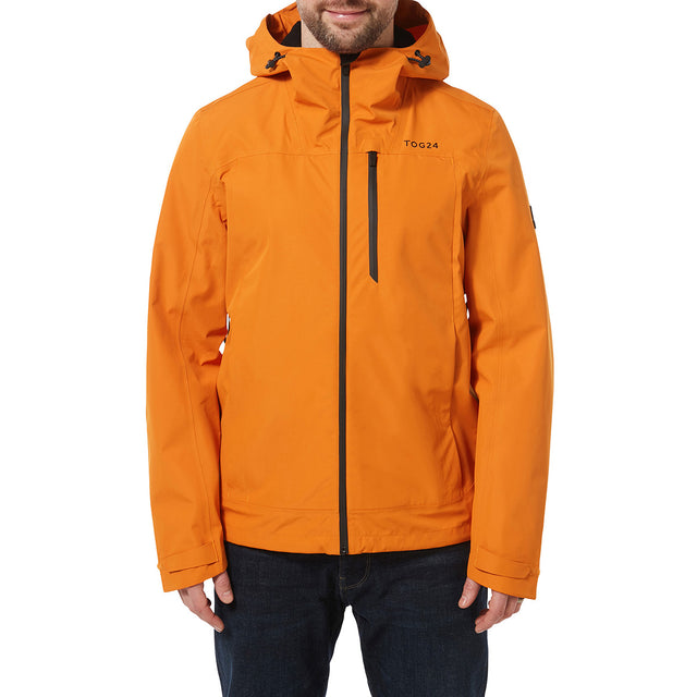 Mcintyre Mens Performance Waterproof Jacket - Satsuma image 2
