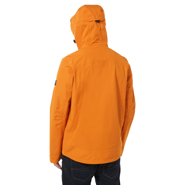 Mcintyre Mens Performance Waterproof Jacket - Satsuma image 3