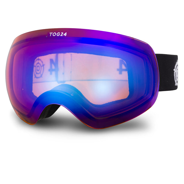 Megeve Cat 2 Lens Goggles - Matt Black/Orange