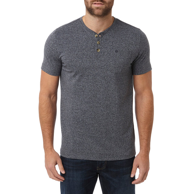 Narrick Mens T-Shirt - Navy Marl image 2