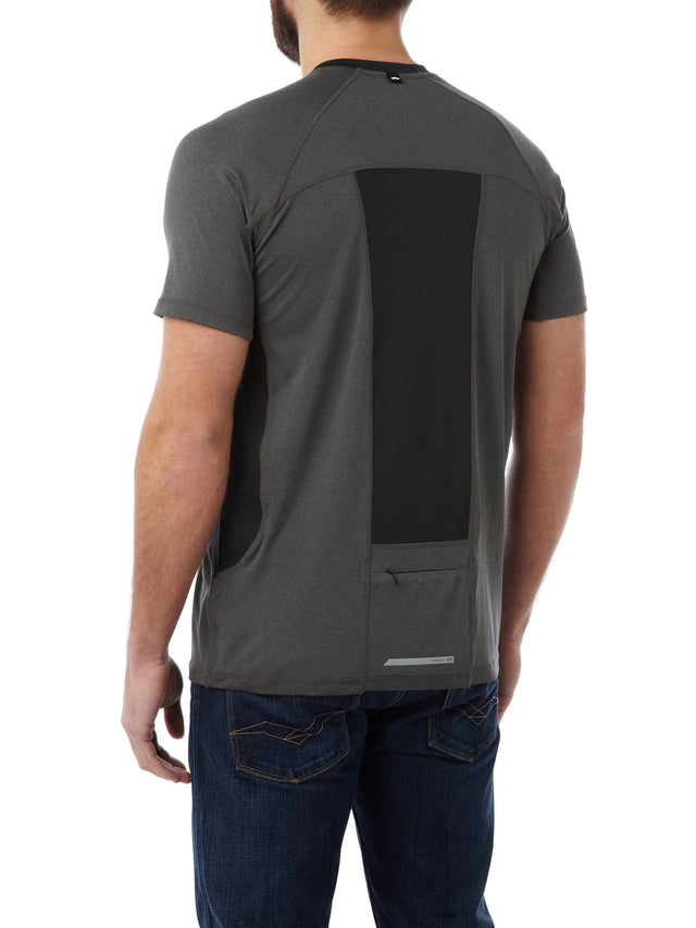 Neven Mens TCZ Stretch T-Shirt - Dark Grey Marl image 3