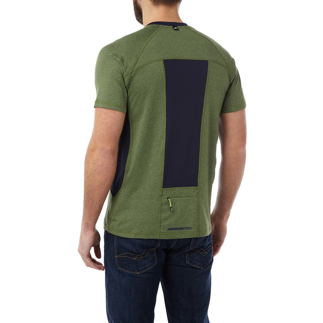 Neven Mens TCZ Stretch T-Shirt - Lime Marl image 3