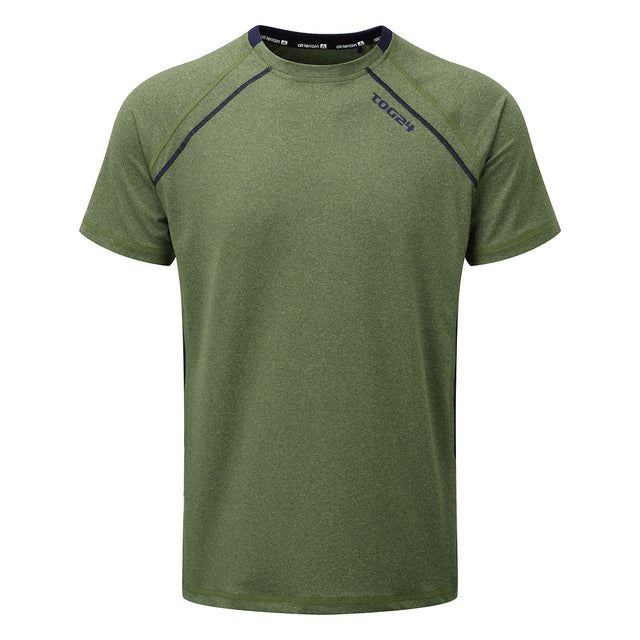Neven Mens TCZ Stretch T-Shirt - Lime Marl image 1