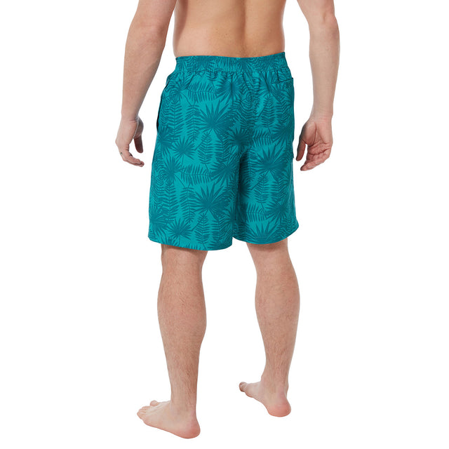 Pacific Mens Boardshorts - Blue Jewel Print image 3