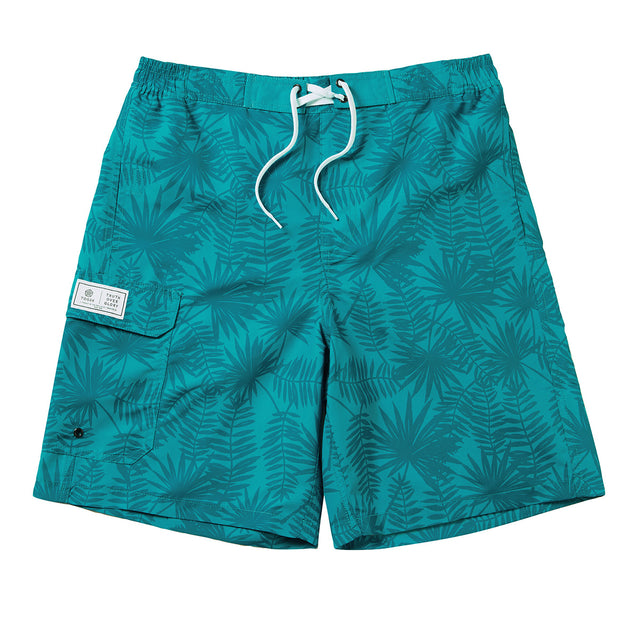 Pacific Mens Boardshorts - Blue Jewel Print image 1