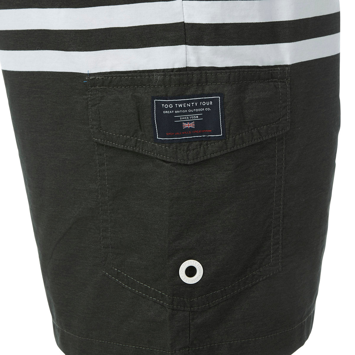 Padstow Mens Swimshorts - Raven image 4