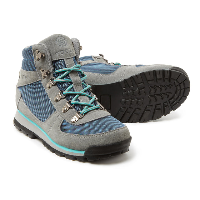 Penyghent Womens Waterproof Boots - Grey/Lagoon/Turquoise image 1