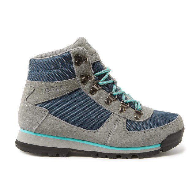 Penyghent Womens Waterproof Boots - Grey/Lagoon/Turquoise image 2