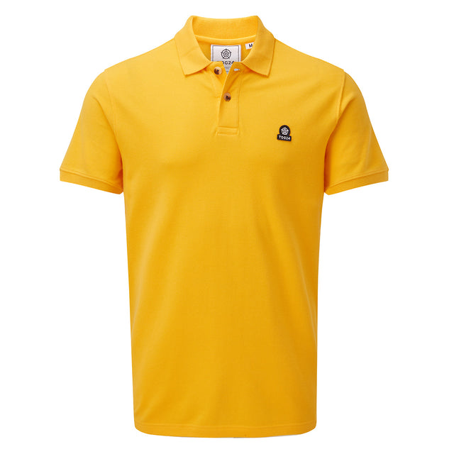 Percy Mens Pique Polo Shirt - Citrus image 1
