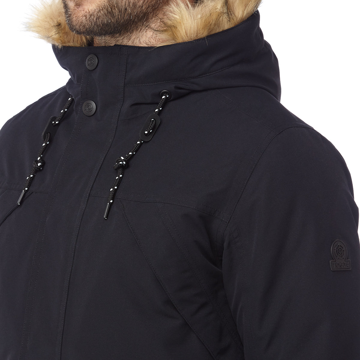 Premium Mens Waterproof Down Filled Parka - Black image 4