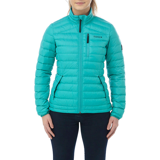 Prime Womens Down Jacket - Turquoise image 2