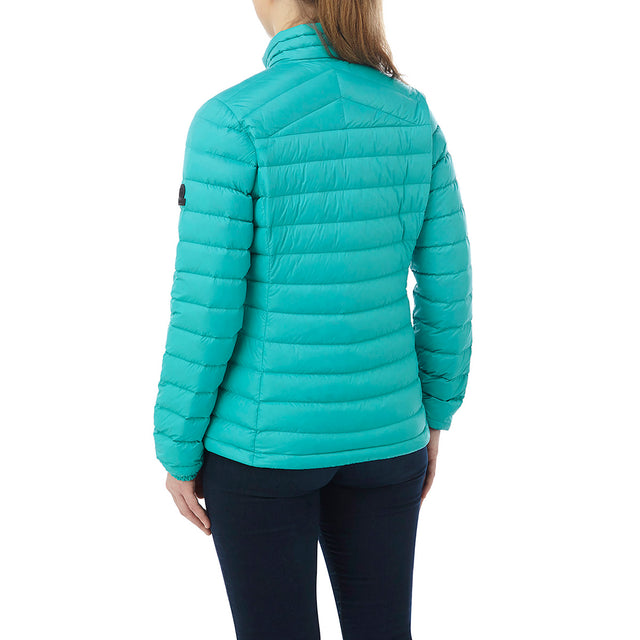 Prime Womens Down Jacket - Turquoise image 3