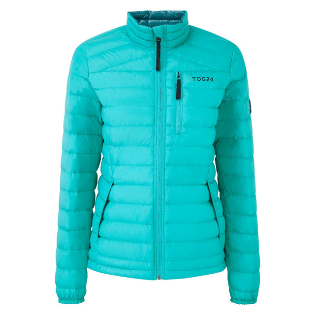 Prime Womens Down Jacket - Turquoise image 1