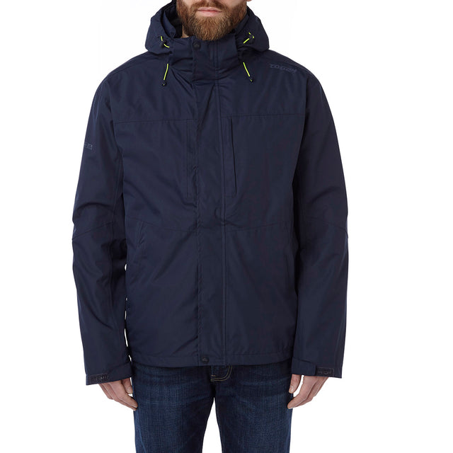 Prism Mens Milatex 3-in-1 Jacket - Navy image 2