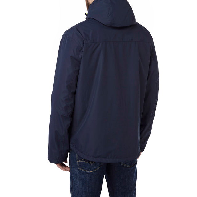 Prism Mens Milatex 3-in-1 Jacket - Navy image 3