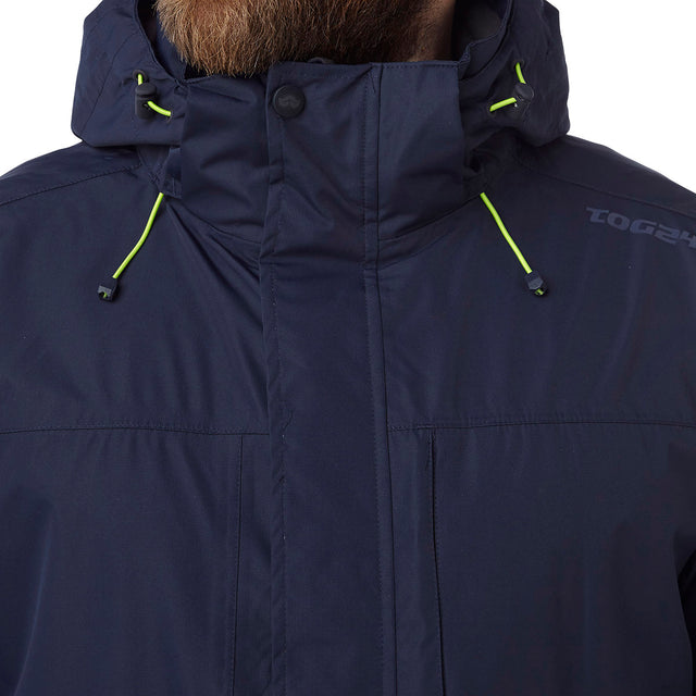 Prism Mens Milatex 3-in-1 Jacket - Navy image 5