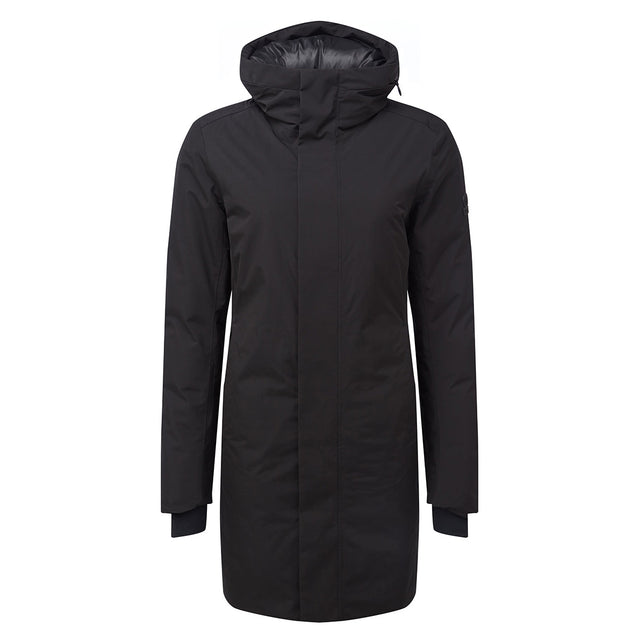 Radiant Womens Waterproof Down Fill Parka - Black image 6