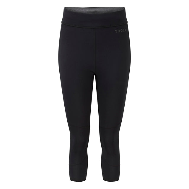 Raid Womens Reversible Performance Leggings - Black/Grey Marl image 1