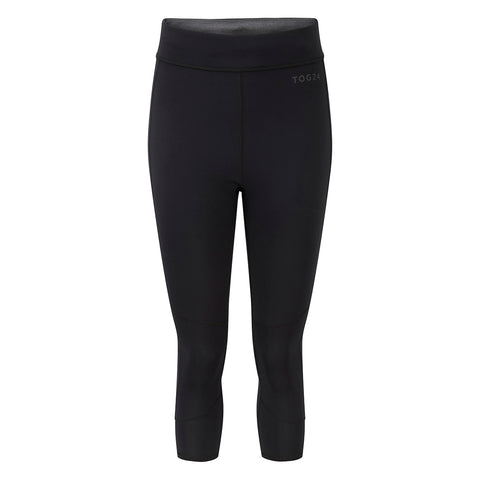 Raid Womens Reversible Performance Capris - Black/Grey Marl