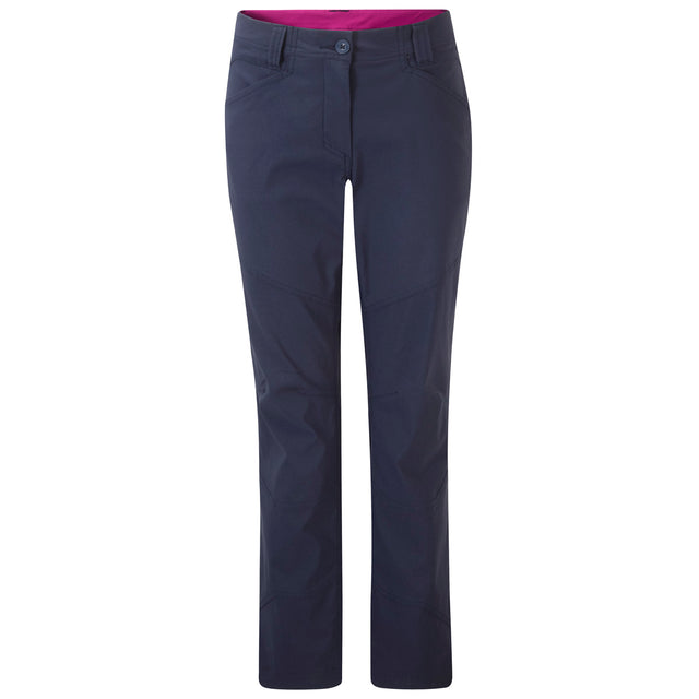 Rena Womens TCZ Stretch Trousers Long Leg - Mood Blue