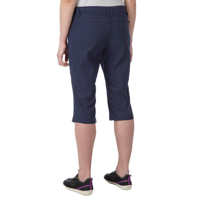 Rena Womens TCZ Stretch Capri - Mood Blue image 3