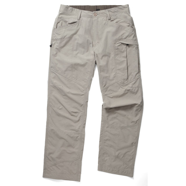 Reno Mens TCZ Tech Trousers Short Leg - Pebble