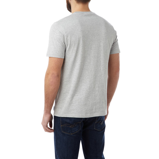 Roberts Mens T-Shirt Simple Life - Light Grey image 3