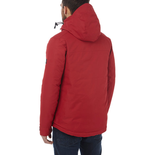 Rogan Mens Waterproof Insulated Jacket - Chilli Red image 3