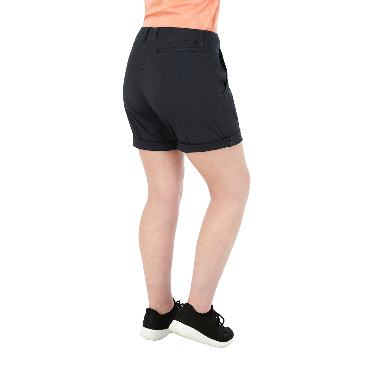 Runswick Womens Performance Shorts - Dark Navy image 4