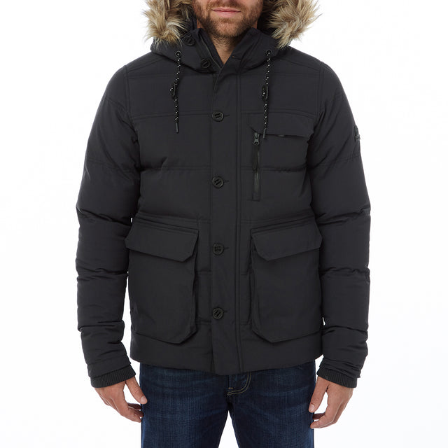Ryburn Mens TCZ Thermal Jacket - Black image 2