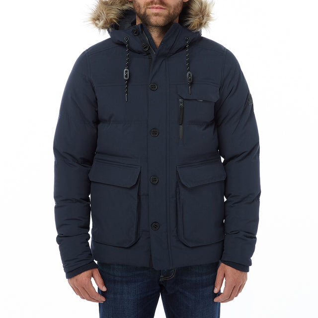 Ryburn Mens TCZ Thermal Jacket - Navy image 2