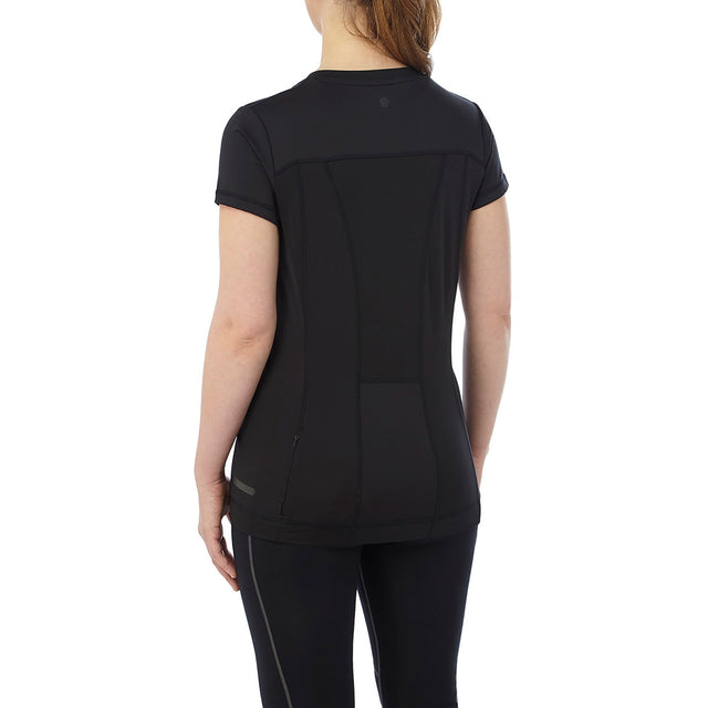 Safila Womens Stretch Performance T-Shirt - Black image 3