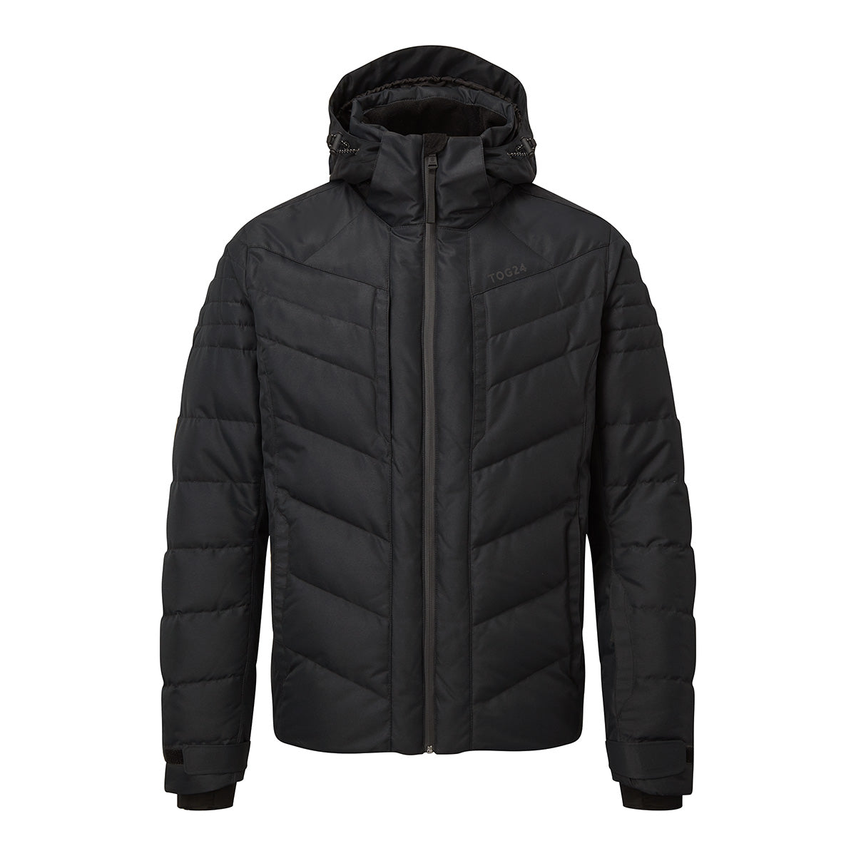 Scar Mens Down Insulated Ski Jacket - Black