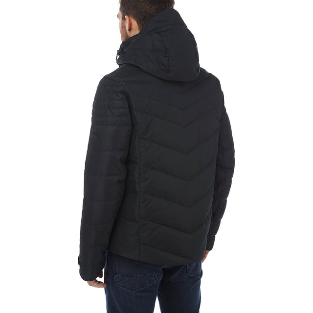 Scar Mens Down Insulated Ski Jacket - Black image 3