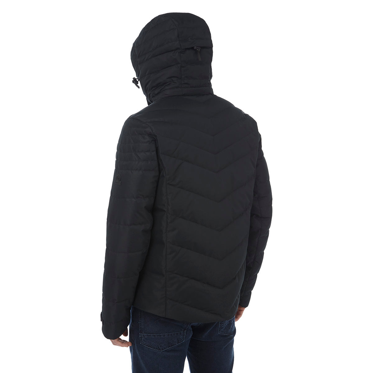 Scar Mens Down Insulated Ski Jacket - Black image 4
