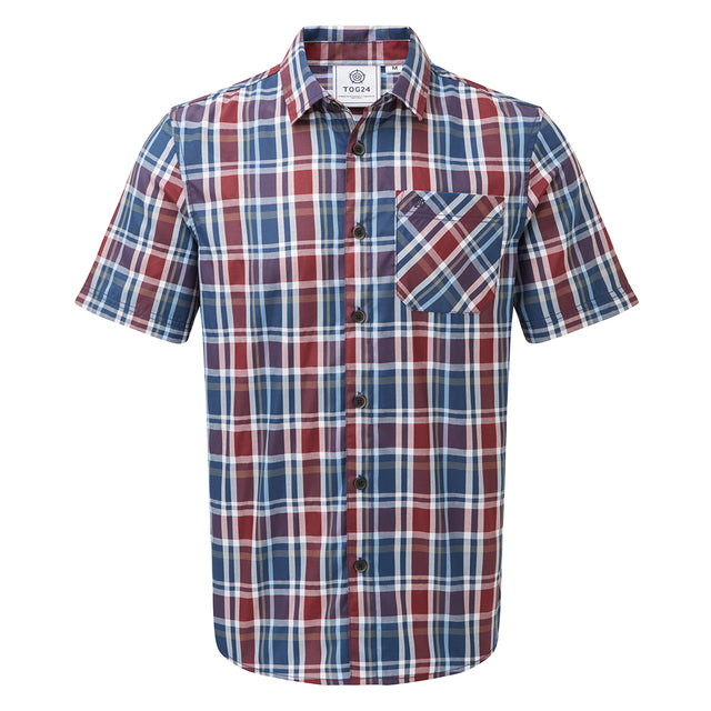 Selby Mens Shirt - Navy/ Red image 1