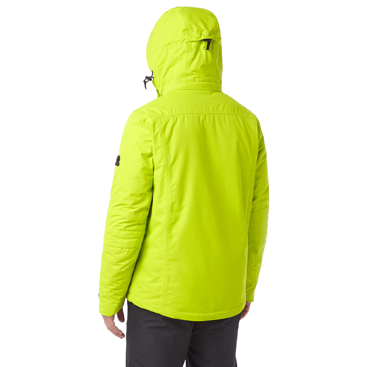 Sharp Mens Waterproof Insulated Ski Jacket - Bright Lime image 4