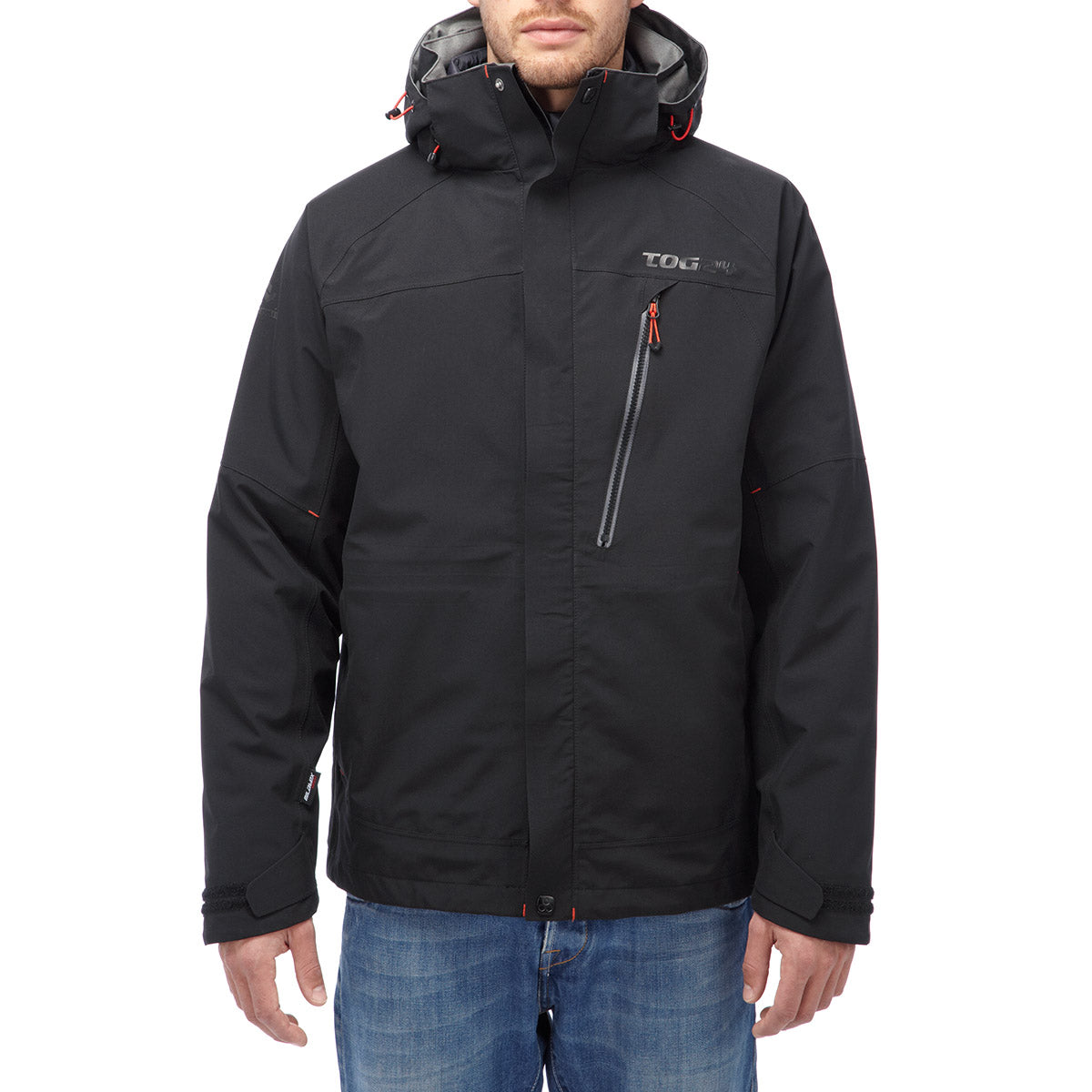 Shelter Mens Milatex 3-In-1 Jacket - Black image 4