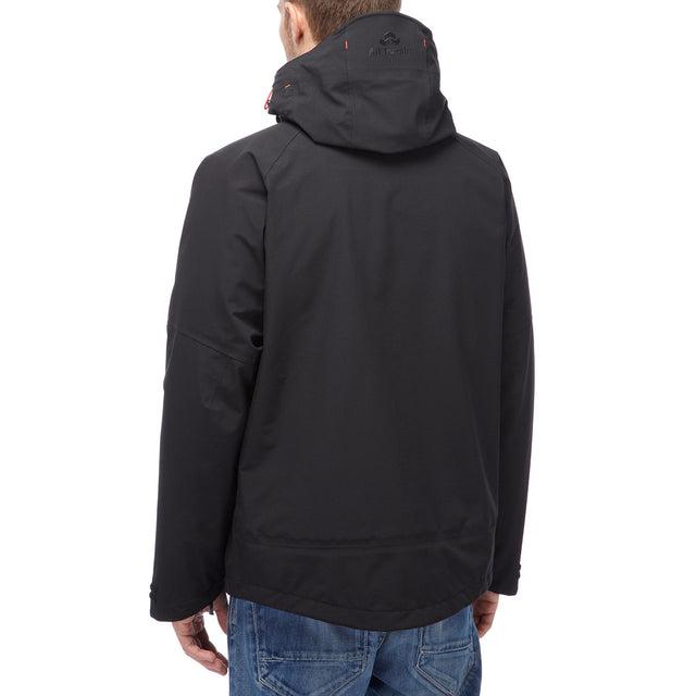Shelter Mens Milatex 3-In-1 Jacket - Black image 2