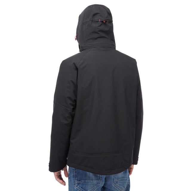 Shelter Mens Milatex 3-In-1 Jacket - Black image 3