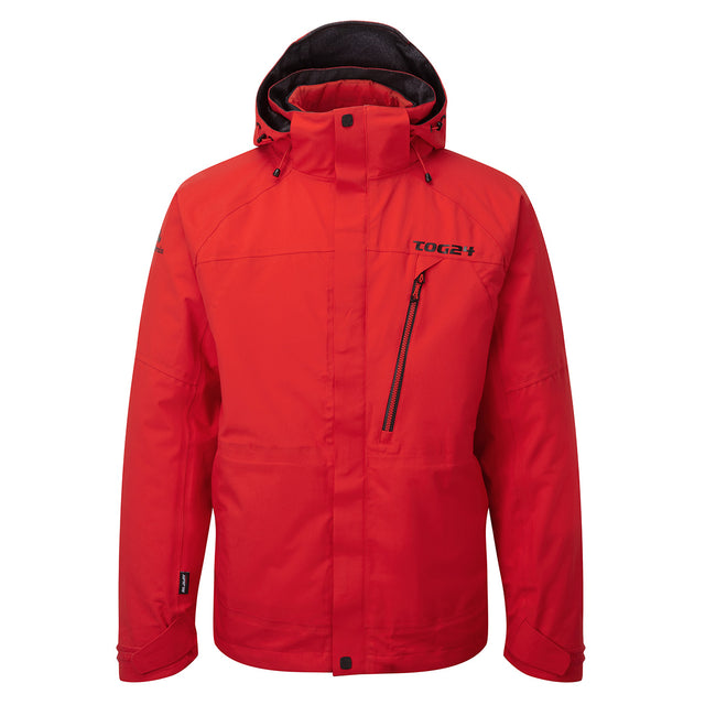 Shelter Mens Milatex 3-In-1 Jacket - Fire Red