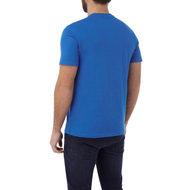 Kelton Mens Graphic T-Shirt Commute - Ocean image 3