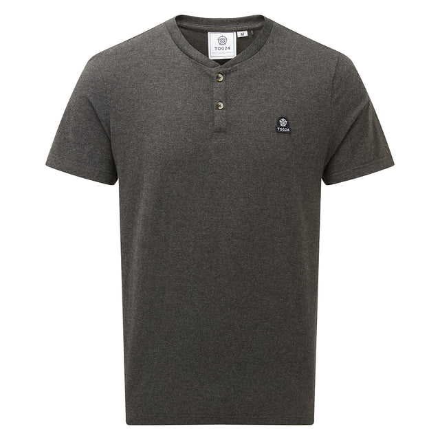 Skell Mens T-Shirt - Dark Grey Marl image 5