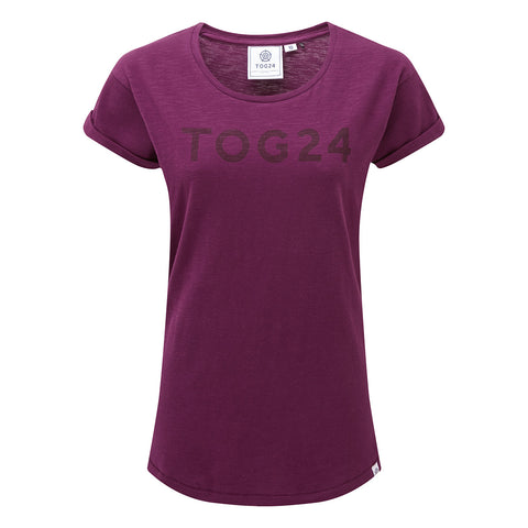 Sowden Womens T-Shirt - Mulberry