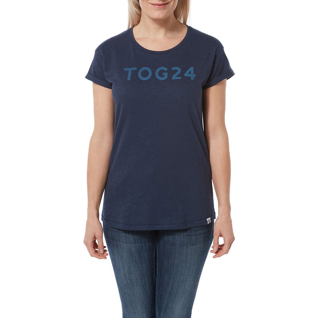 Sowden Womens T-Shirt - Naval Blue image 2